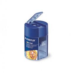 Temperamatite 2 fori per matite colorate c/contenitore Noris Club STAEDTLER