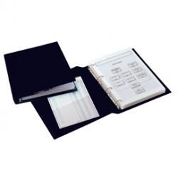 Raccoglitore SANREMO 2000 25 4D nero 35x50cm libro SEI ROTA