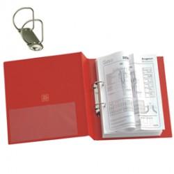 Raccoglitore STELVIO 40 A4 2D rosso 22x30cm SEI ROTA