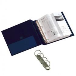 Raccoglitore STELVIO 25 A5 4R blu 15x21cm SEI ROTA