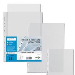 25 BUSTE FORATE 22X30-15 ERCOLE PVC SEI ROTA