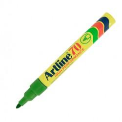 Marcatore artline A 70 permanente punta tonda verde