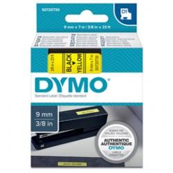 NASTRO DYMO TIPO D1 (9MMX7M) NERO/GIALLO 409180