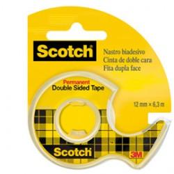 NASTRO BIADESIVO Scotch 6,3MTX12MM 665-136D PERMANENTE S/LINER IN CHIOCCIOLA