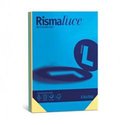Carta RISMALUCE 140gr A3 200fg mix 5 colori FAVINI