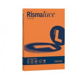 Carta RISMALUCE 140gr A4 200fg arancio 56 FAVINI