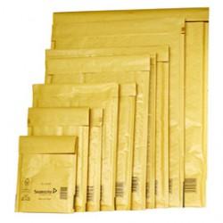 10 Buste imbottite GOLD CD 18X16cm UTILE avana MAIL LITE