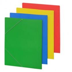 CARTELLINA C/ELASTICO cartone plastificato 50X70CM AZZURRO 57EL