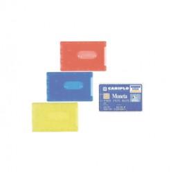 BUSTA PORTA CARDS 8,5X5,4 02/7828 PVC RIGIDO TRASPARENTE FAVORIT