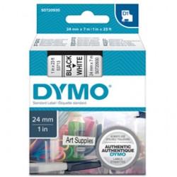 NASTRO DYMO TIPO D1 (24MMX7MT) NERO/BIANCO 537130
