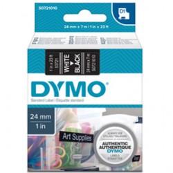 NASTRO DYMO TIPO D1 (24MMX7MT) BIANCO/NERO 537210