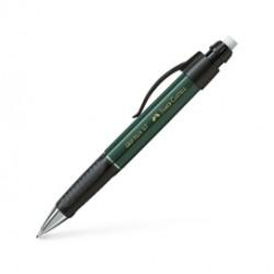 PORTAMINE 0,7MM GRIP PLUS METALLIC fusto verde FABER CASTELL
