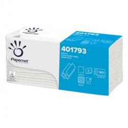 Pacco 143 asciugamani piegati a Z goffrato onda+ Ecolabel Papernet
