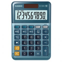 Calcolatrice da tavolo compatta MS-100EM Casio