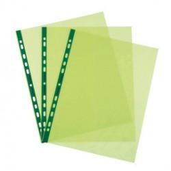 25 Buste forate Pstel 22x30 verde liscio Favorit