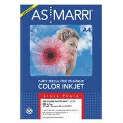 CARTA INKJET A4 200GR 50FG COLOR PHOTO OPACA 8734 MARRI