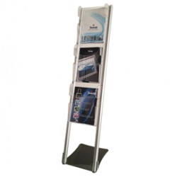 Portadepliant da terra con 3 tasche A4 Vision Ice VS03