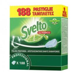 Fustino 188 Tabs 10g per lavastoviglie Svelto Tablets