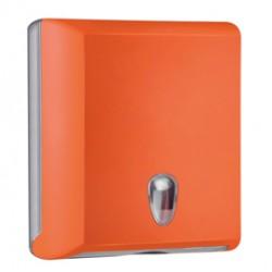 Dispenser asciugamani piegati C/Z orange Soft Touch
