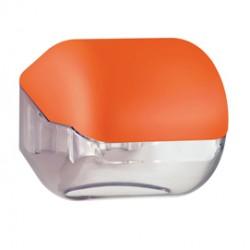 Dispenser carta igienica rt/interfogliata orange Soft Touch
