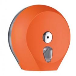 Dispenser carta igienica Midi Jumbo 23cm orange Soft Touch