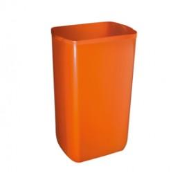 Cestino gettacarte 23lt arancio Soft Touch