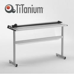 TAGLIERINA A LAMA ROTANTE A0 1300mm c/Stand TN130 TiTanium
