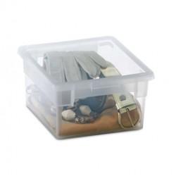 CONTENITORE MULTIUSO 17,8x20,4x H10CM - 2,5LT LIGHT BOX S/2