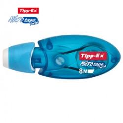 Box 10 correttore a nastro Micro Tape Twist 5mm x 8mt col.ass. Tipp-Ex
