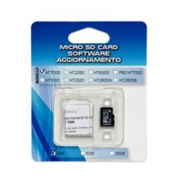MICRO SD CARD aggiornamento 100/200 per verificabanconote HT7000