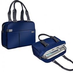 Borsa shopper smart traveller per PC 13,3 blu Leitz Complete