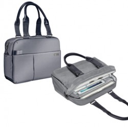 Borsa shopper smart traveller per PC 13,3 grigia Leitz Complete