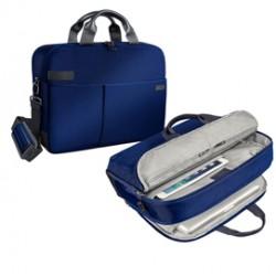 Borsa smart traveller per PC 15,6 blu Leitz Complete