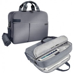 Borsa smart traveller per PC 15,6 grigia Leitz Complete