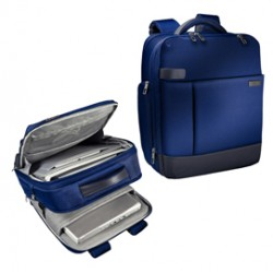 Zaino smart traveller per PC 15,6 blu Leitz Complete