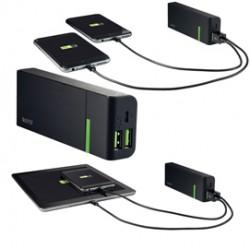 Caricatore portatile 2 porte USB 5200mAh Leitz Complete