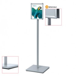 Display Catching Pole Standard A3 Bifacciale