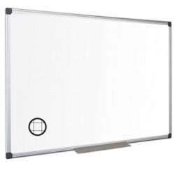 Lavagna magnetica a quadretti 60x90cm Maya Bi-Office