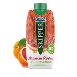 Succo Skipper gusto Arancia Rossa BRICK 330ml Zuegg