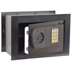 Cassaforte da muro con serratura elettronica 330x200x230mm Iternet