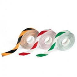 Nastro adesivo da pavimento DURALINE STRONG 50/12 50mmx30m rosso/bianco Durable