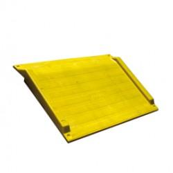 Rampa di accesso 75x125,6x7,5cm Giallo