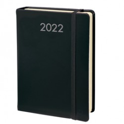 Agenda giornaliera Daily Pocket Prestige 8,5x13cm Habana nero 2022 Quo Vadis