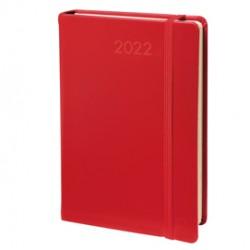 Agenda giornaliera Daily 21 Prestige 13x21cm Habana rosso 2022 Quo Vadis