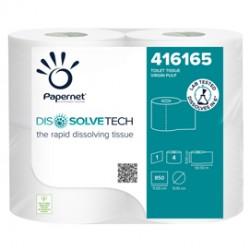 Pacco 4RT Carta igienica 850 strappi Dissolvetech Papernet