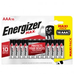 Blister 16 pile ministilo AA A - Energizer Max