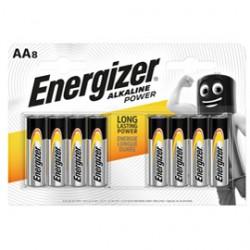 Blister 8 pile stilo AA - Energizer Alkaline Power