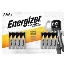 Blister 8 pile ministilo AAA - Energizer Alkaline Power