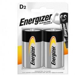 Blister 2 pile torcia D - Energizer Alkaline Power