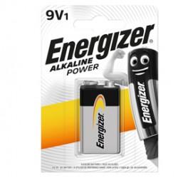 Blister 1 pila transistor 9V - Energizer Alkaline Power